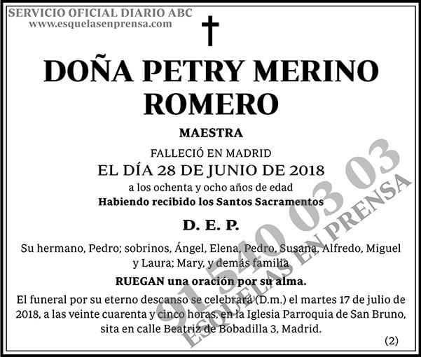 Petry Merino Romero